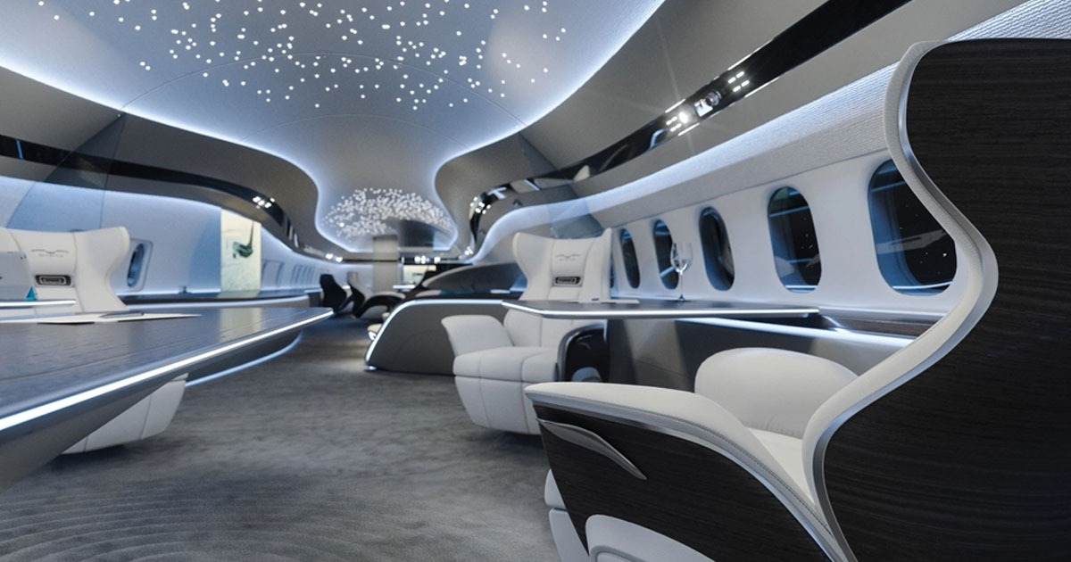 Jet Interior Design - Buy Private Jet - Private Jets For Sale - Miami Jet