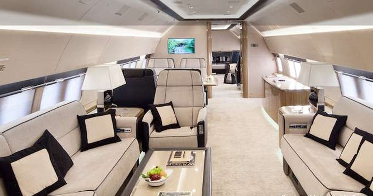 Luxury Jets Listing - Buy Used Jets - Boeing BBJ - Jet Interior