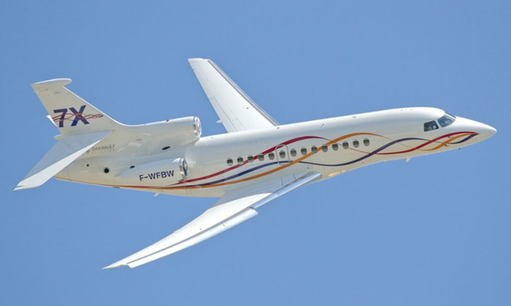 Dassault Falcon 7X - 3rd Place In Our List Of The Fastest Jets In The World