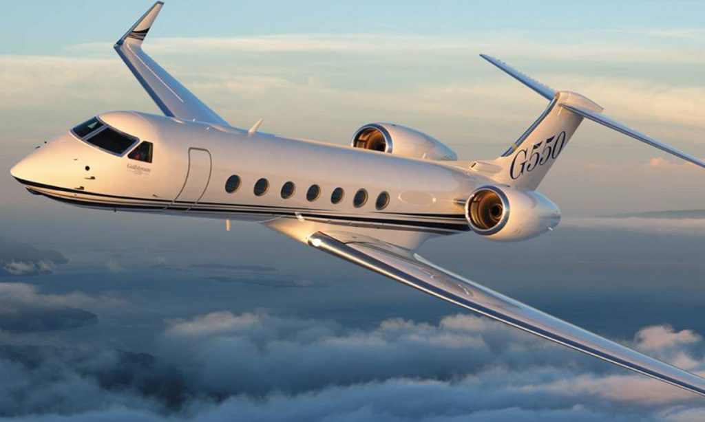 Gulfstream G550 - Our List Of Top Speed Jets In The World In 2018