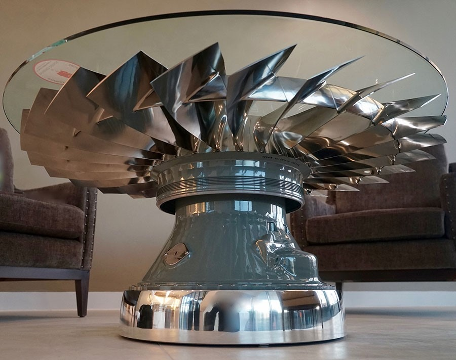 Turning Old Aircraft Parts To An Expensive Modern Furniture