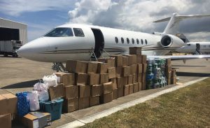 Humanitarian Aid - Private Jet Humanitarian - Aid Package - Jet News - Miami Jet - Green Private Jet