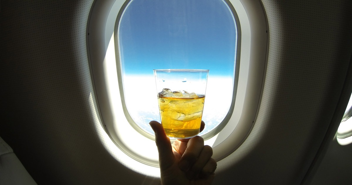 Drinking on a Plane - Can You Drink on a Private Jet - Aviation Mythbusters - Jets For Sale