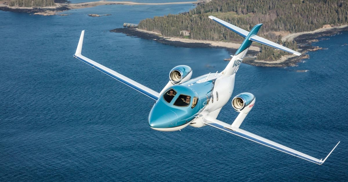 HondaJet Elite Launch - Private Jet News - Purchase a Jet - Luxury Jets Listings