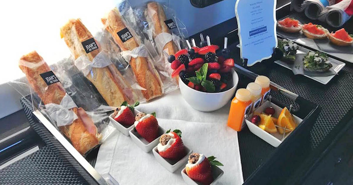 Private Jet Trends 2019 - Food On Jets - Buy Private Jet - Jet Listing